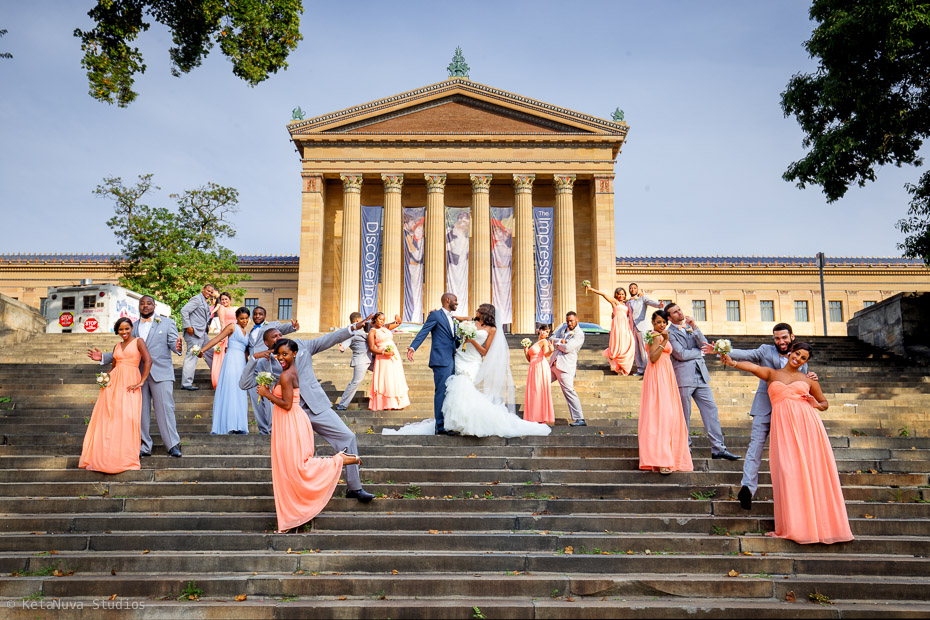 Philly Wedding Photography | Cee & Mia Cee Mia Philly Wedding Photography PA Wedding KetaNuva Studios NYC NJ Photographer 54