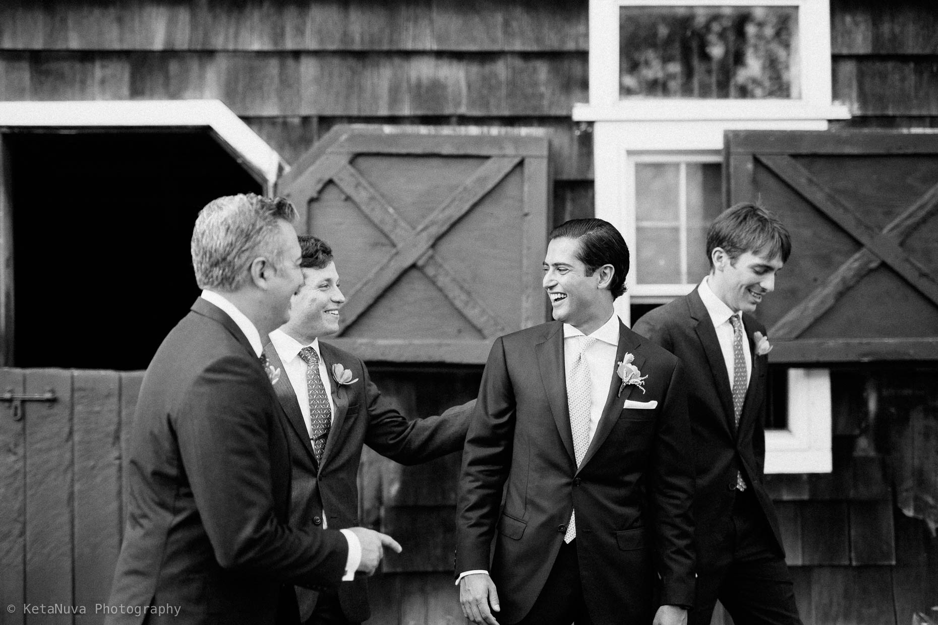 "Candid photo of the groomsmen. Hudson Valley rustic wedding. "" width=""1860"" height="
