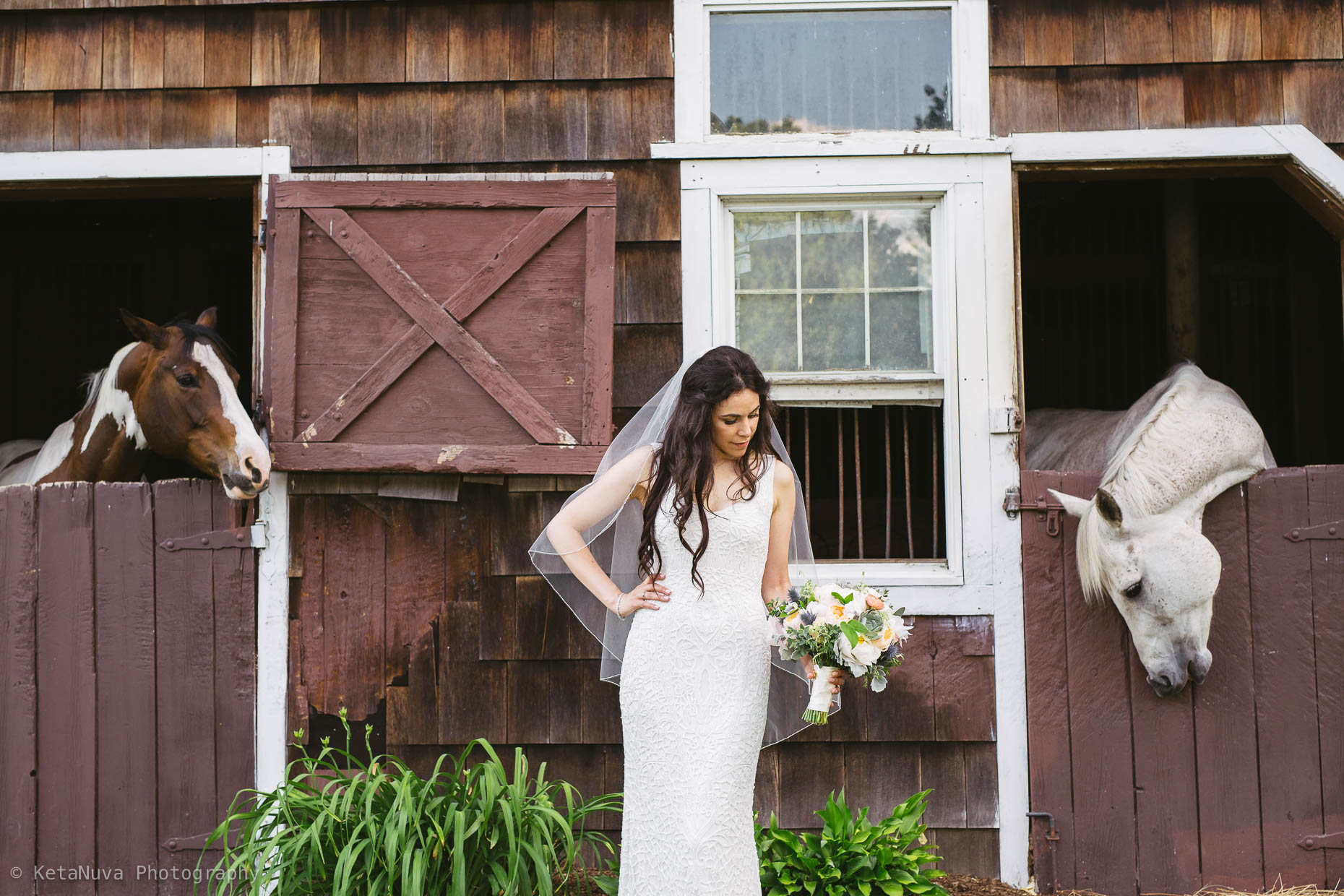"Hudson Valley rustic wedding - beautiful portrait of the bride. "" width=""1860"" height="