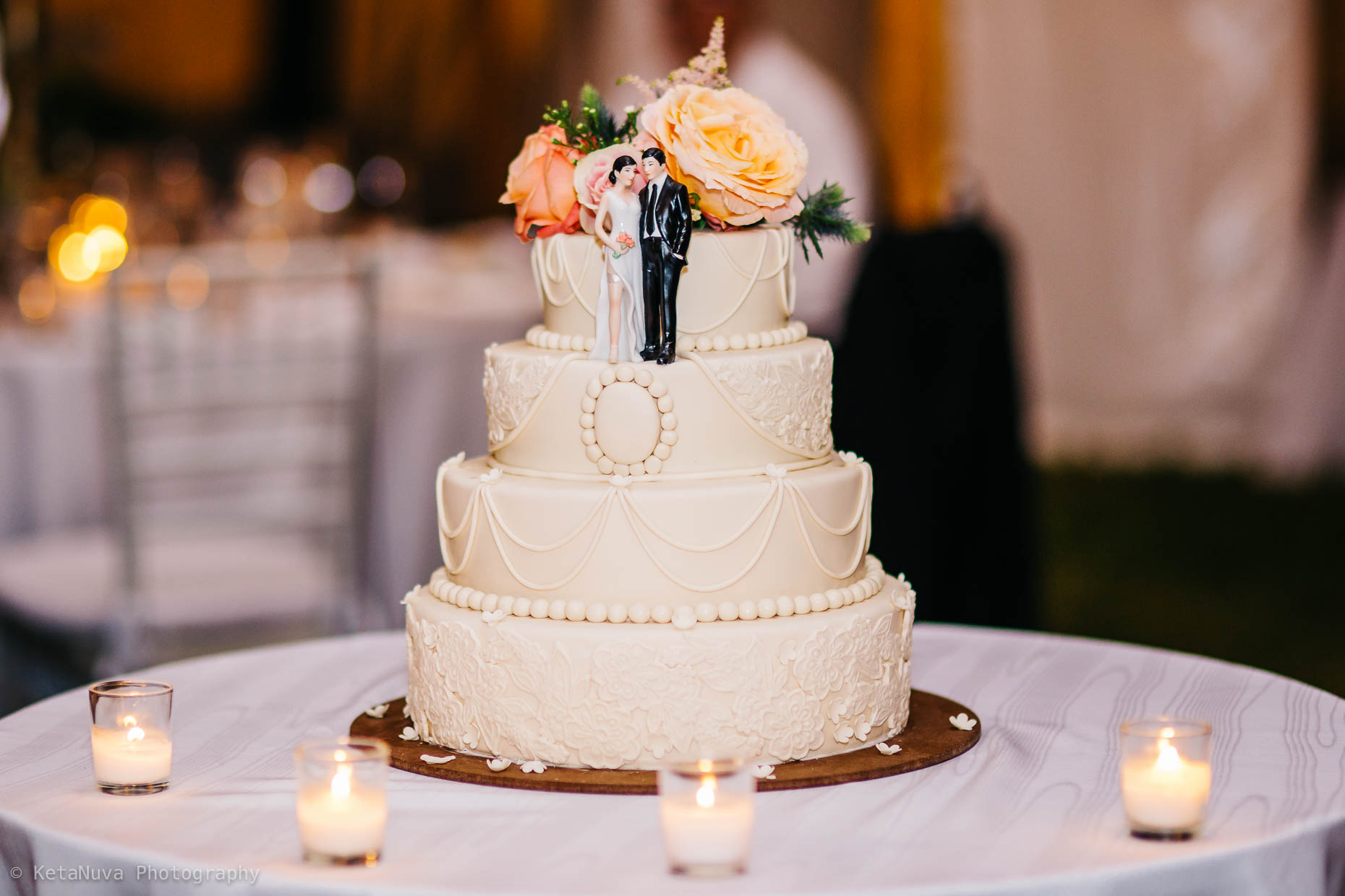 "The beautiful wedding cake. "" width=""1860"" height="